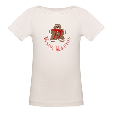Gingerbread Holidays Organic Baby T-Shirt