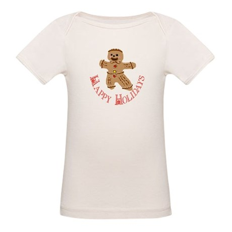 Gingerbread Man Organic Baby T-Shirt
