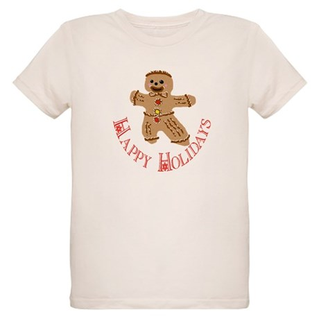 Gingerbread Man Organic Kids T-Shirt