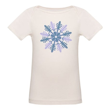 Snowflake Organic Baby T-Shirt