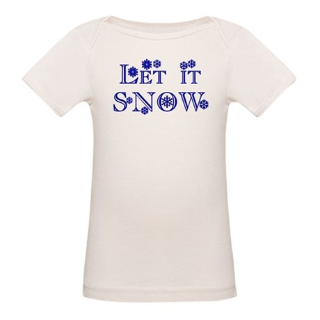 Let it SNOW! Organic Baby T-Shirt