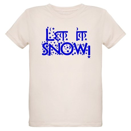 Let it Snow! Organic Kids T-Shirt