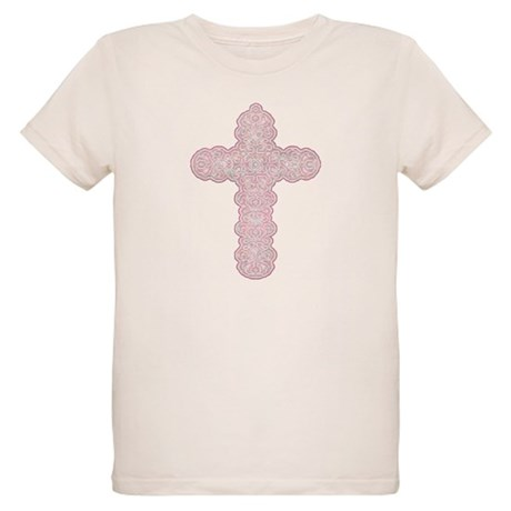 Pastel Cross Organic Kids T-Shirt
