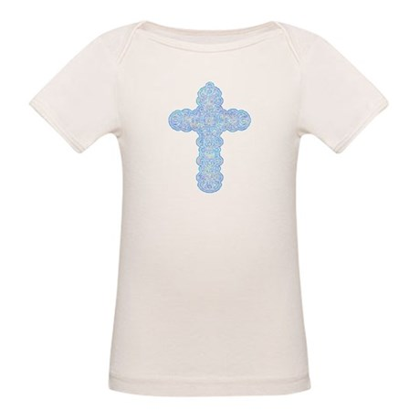 Pastel Cross Organic Baby T-Shirt