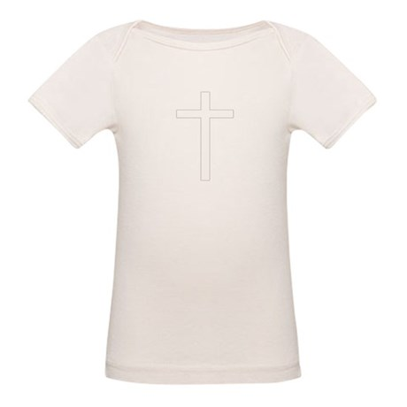 Simple Cross Organic Baby T-Shirt
