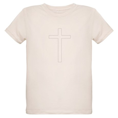 Simple Cross Organic Kids T-Shirt