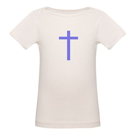 Purple Cross Organic Baby T-Shirt