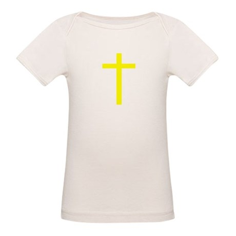 Yellow Cross Organic Baby T-Shirt