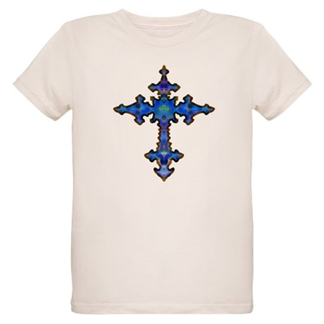 Jewel Cross Organic Kids T-Shirt