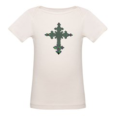 Jewel Cross Organic Baby T-Shirt