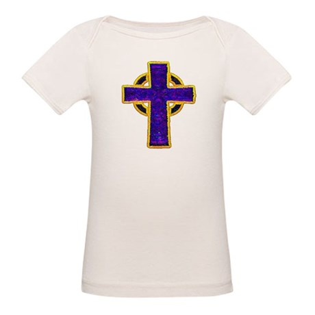 Celtic Cross Organic Baby T-Shirt