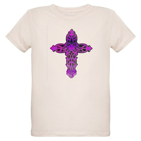 Victorian Cross Organic Kids T-Shirt