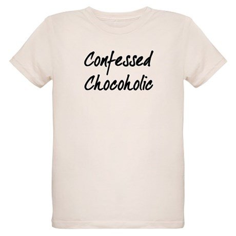 Confessed Chocoholic Organic Kids T-Shirt