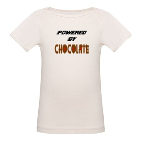 Powered by Chocolate Organic Baby T-Shirt