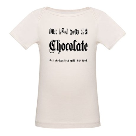 Hand Over the Chocolate Organic Baby T-Shirt