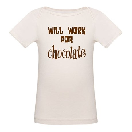 Work for Chocolate Organic Baby T-Shirt