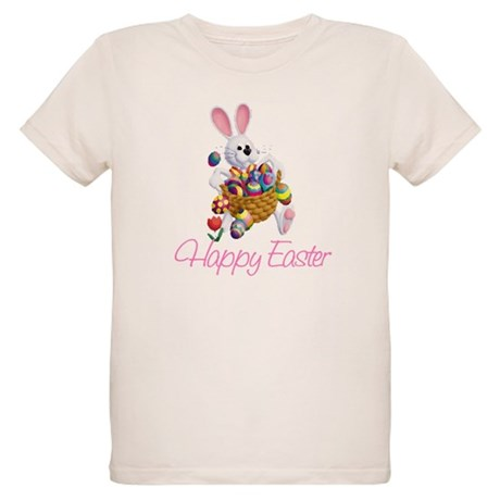 Happy Easter Bunny Organic Kids T-Shirt