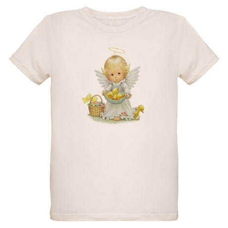 Easter Angel Organic Kids T-Shirt