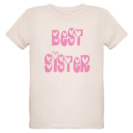 Best Sister Organic Kids T-Shirt