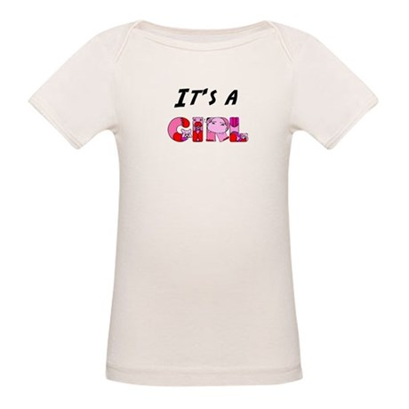 It's a GIRL Organic Baby T-Shirt