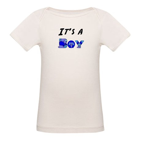 It's a BOY Organic Baby T-Shirt