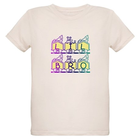 Lil Bro Train Organic Kids T-Shirt
