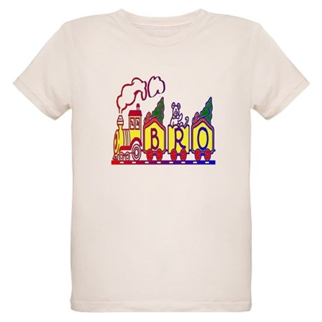 Bro Train Organic Kids T-Shirt