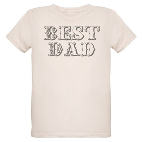 Father's Day Best Dad Organic Kids T-Shirt