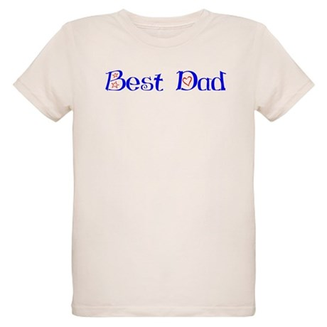Best Dad Organic Kids T-Shirt