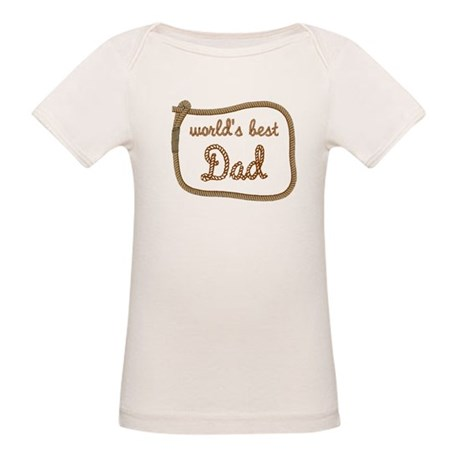 Best Dad Organic Baby T-Shirt