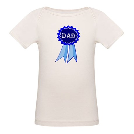 Dad's Blue Ribbon Organic Baby T-Shirt