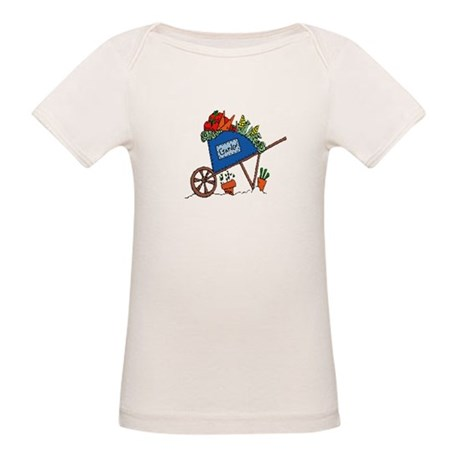Garden Vegetable Cart Organic Baby T-Shirt