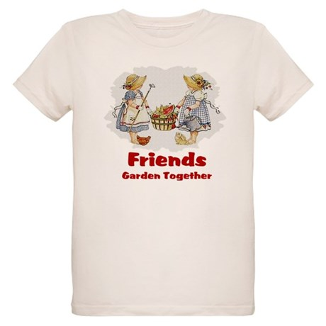 Friends Garden Together Organic Kids T-Shirt