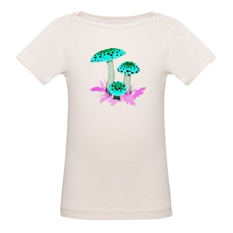 Teal Mushrooms Organic Baby T-Shirt