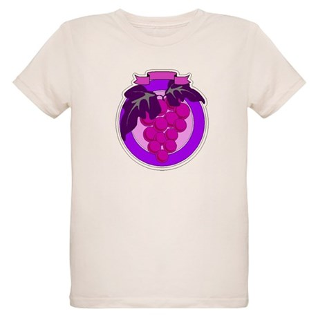 Purple Grapes Organic Kids T-Shirt