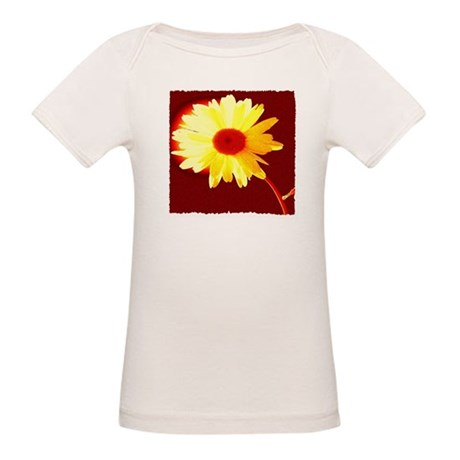 Hot Daisy Organic Baby T-Shirt