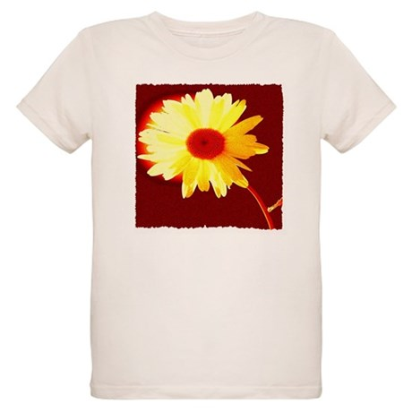 Hot Daisy Organic Kids T-Shirt