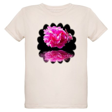 Peony Reflections Organic Kids T-Shirt