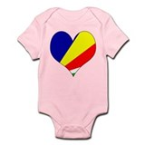 I Love seychelles Islands Onesie