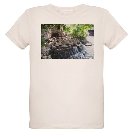 Garden Waterfall Organic Kids T-Shirt