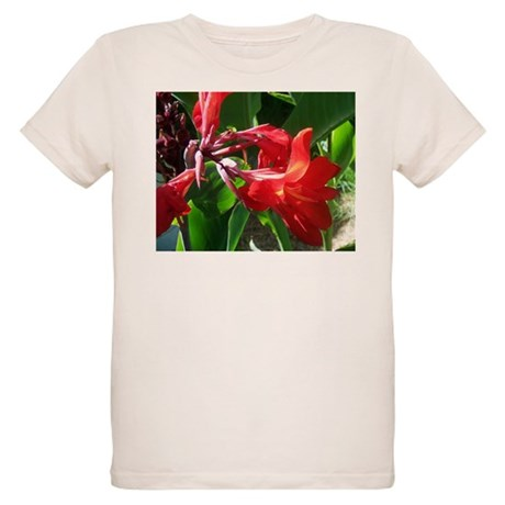 Red Canna Organic Kids T-Shirt