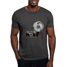 Camera Black T-Shirt