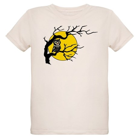 Harvest Moon Owl Organic Kids T-Shirt