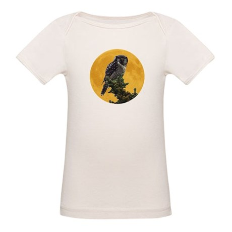 Owl and Moon Organic Baby T-Shirt