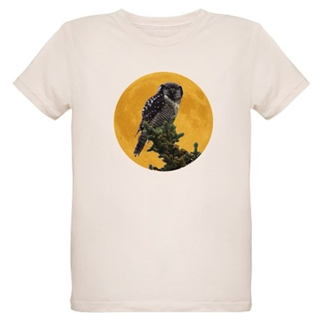 Owl and Moon Organic Kids T-Shirt