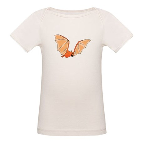 Flying Bat Organic Baby T-Shirt