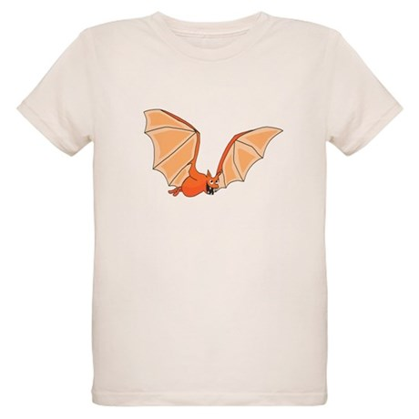 Flying Bat Organic Kids T-Shirt