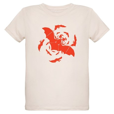 Orange Bats Organic Kids T-Shirt