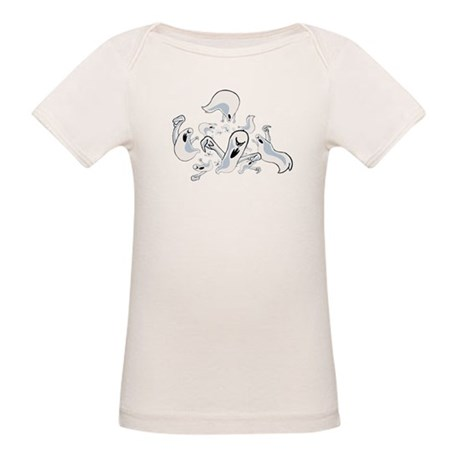 Ghosts Organic Baby T-Shirt