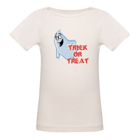 Trick or Treat Organic Baby T-Shirt
